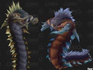 The Two Jormungar - Acidmaw & Dreadscale